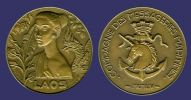 Boullaire, Jacques, Laos Ship Medal, 1954-obv.jpg